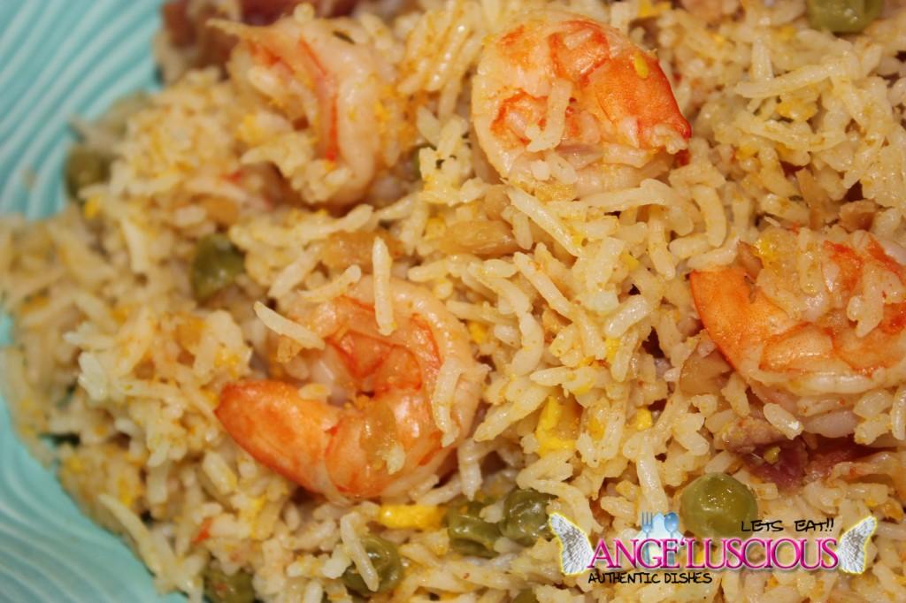 Seasoned Rice with Ackee