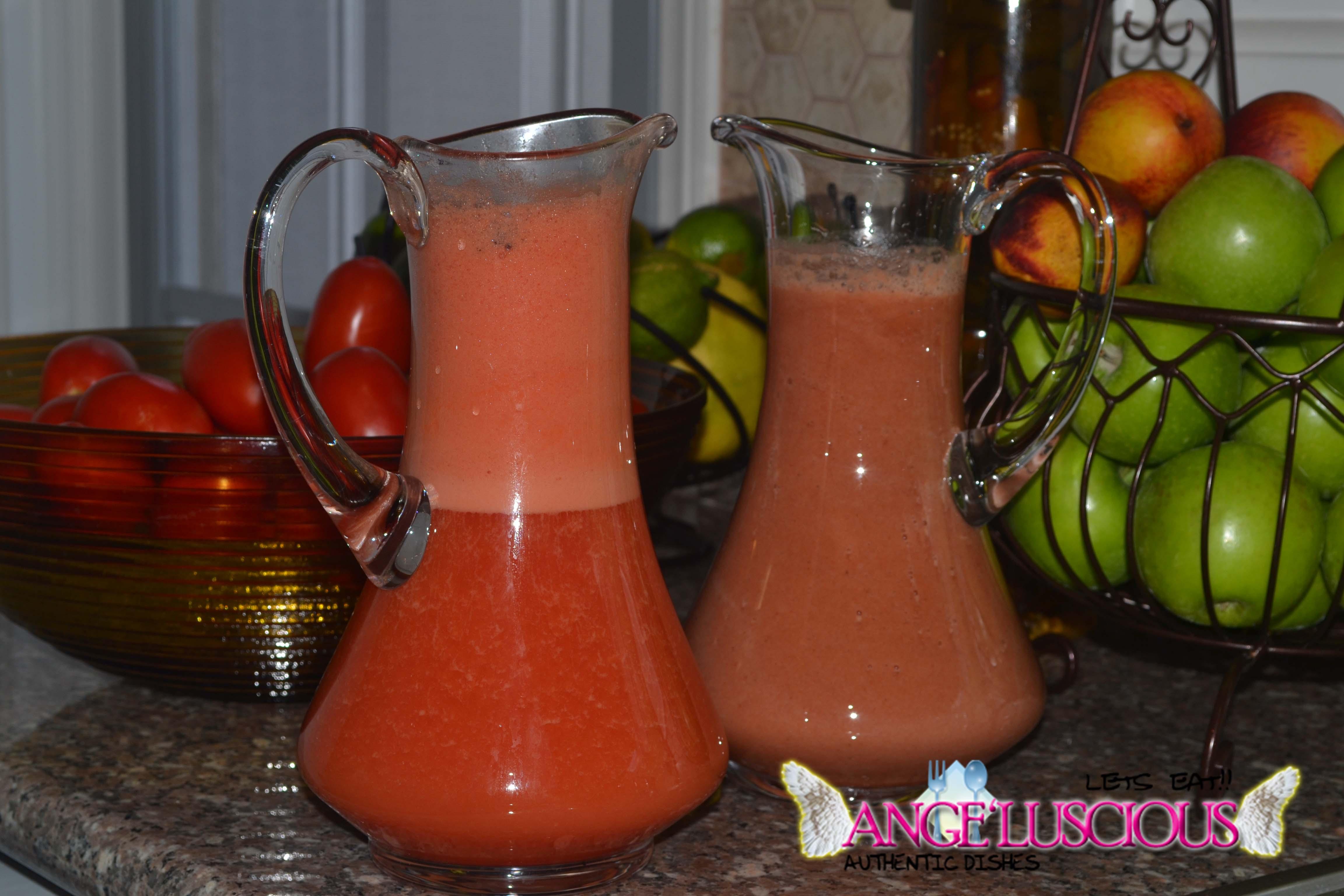 Watermelon pineapple smoothieDSC_9397