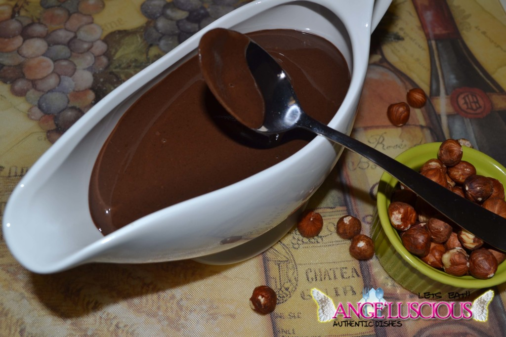 ange'luscious hazelnut chocolate spread