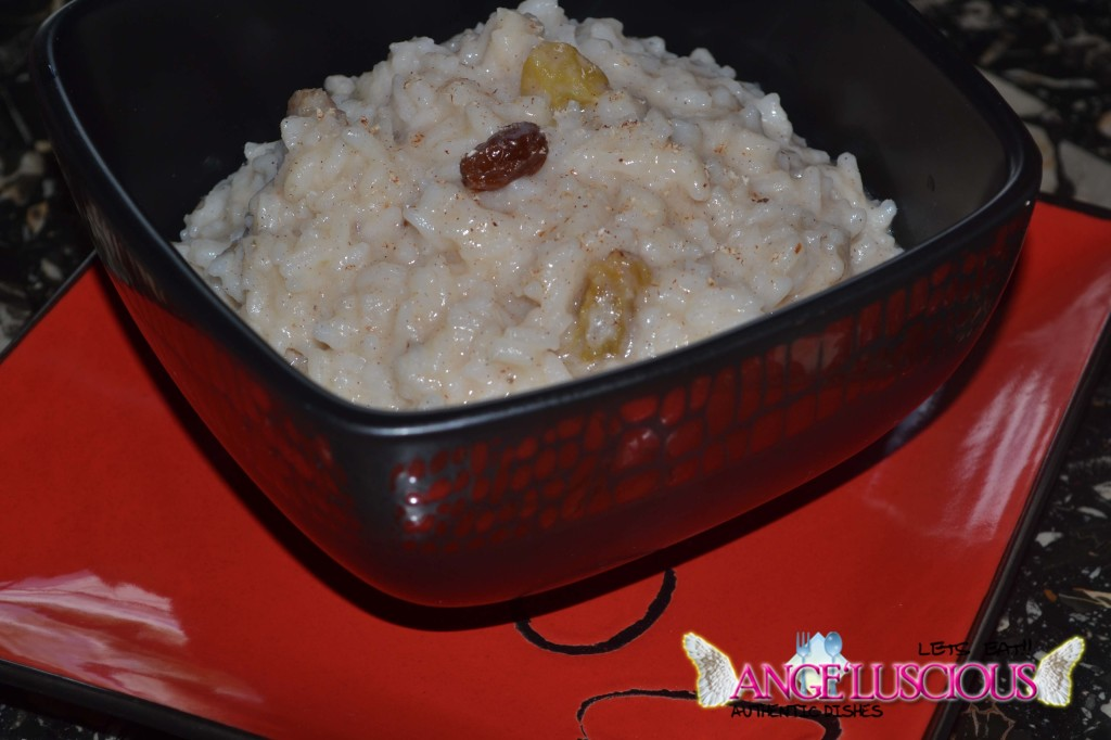 Cardamon Infused Rice Porridge