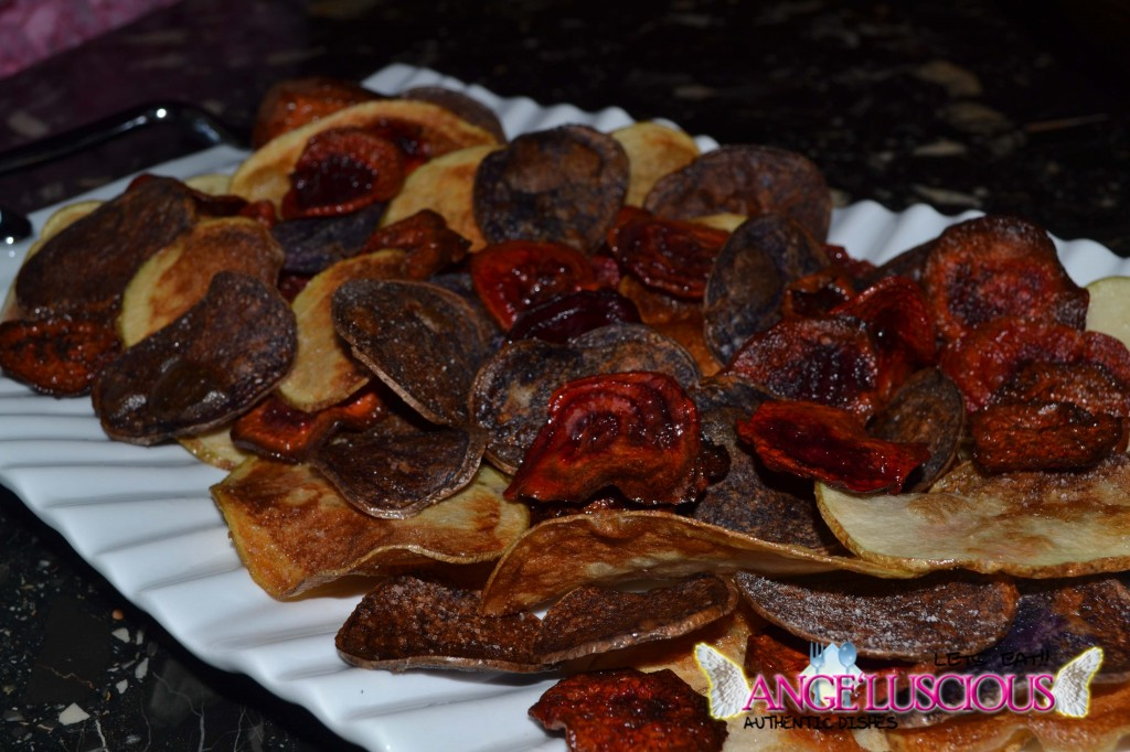 Beetroot and Purple Potato Chips