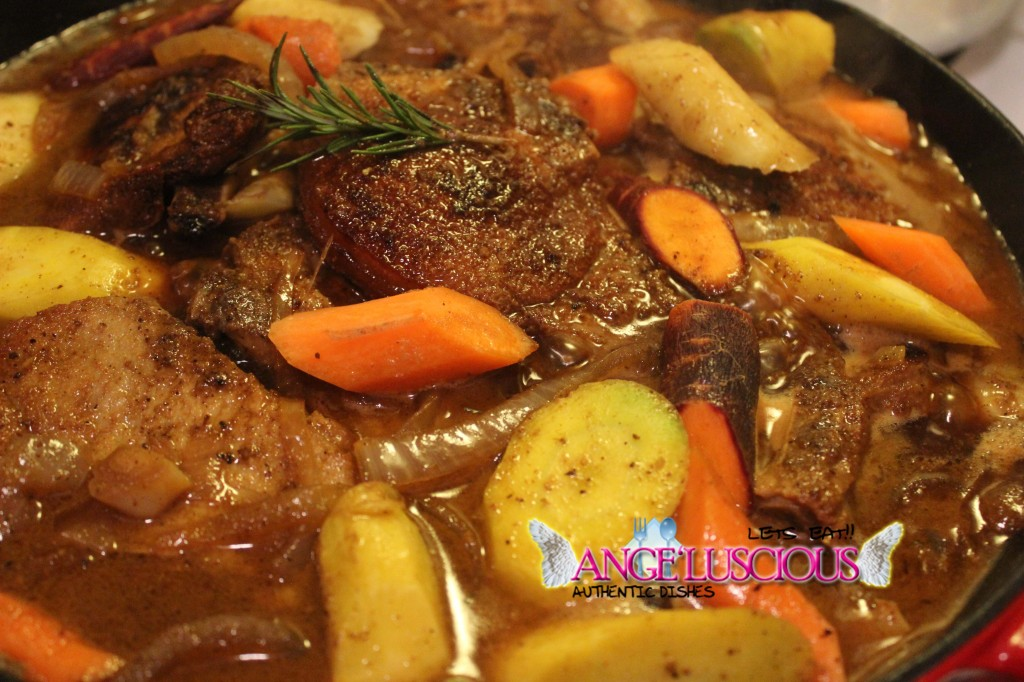Pork Chops in Mustard White Wine Sauce - Angeluscious