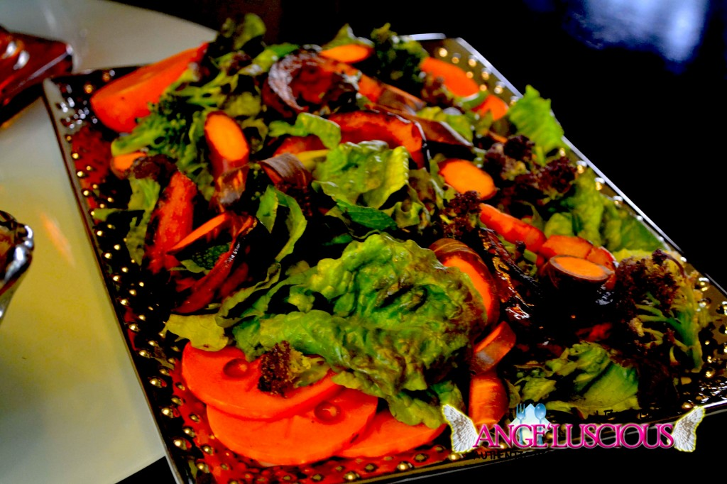 sexy salad with persimmons and pomegranatedsc_0932