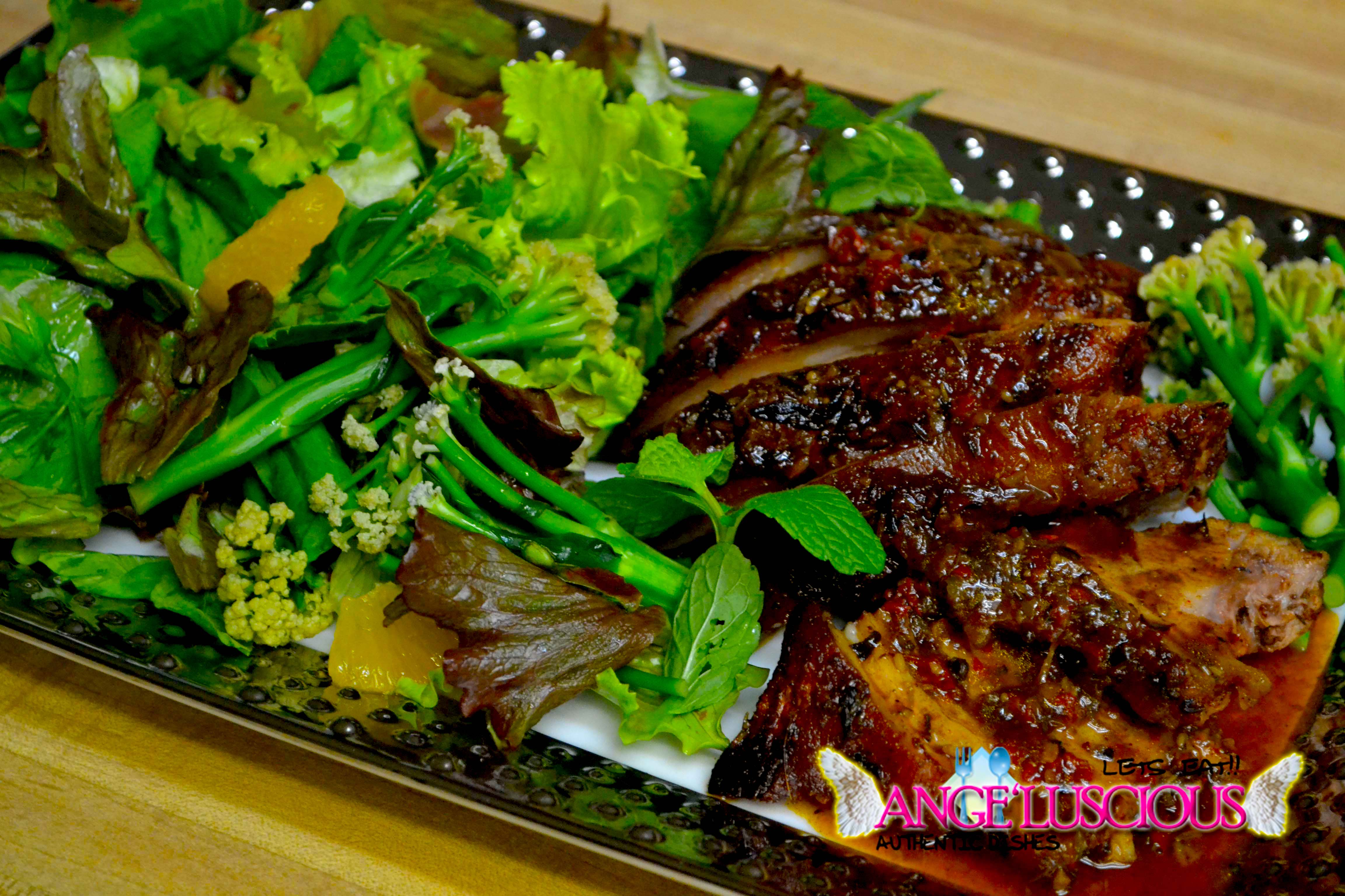 Jerk pork salad DSC_0880